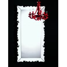Novecento Iron.r - Colico Design mirror, rectangular 184x94 cm, made of steel, available in different colours