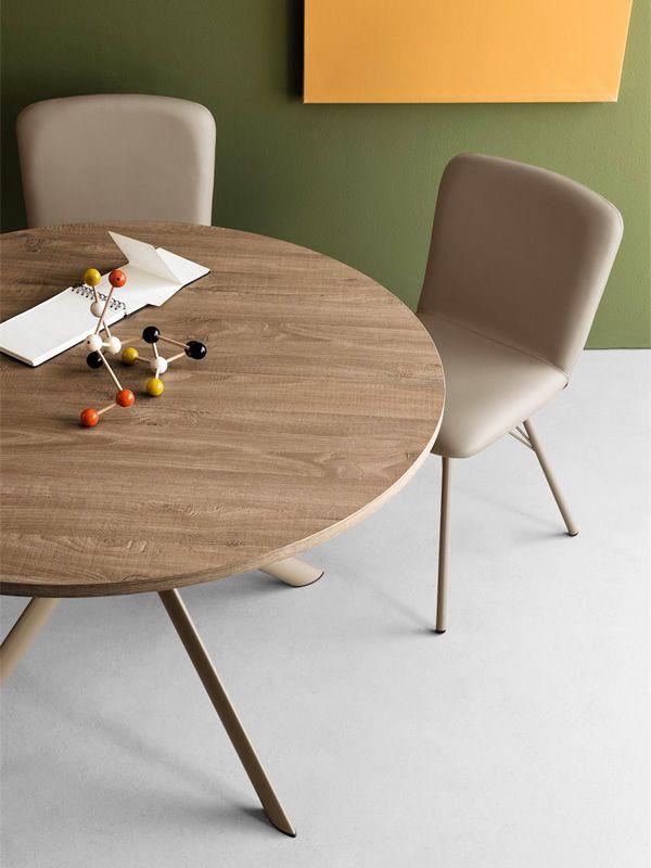 cb4739 giove table rallonge connubia calligaris en m tal avec plateau en verre stratifi. Black Bedroom Furniture Sets. Home Design Ideas