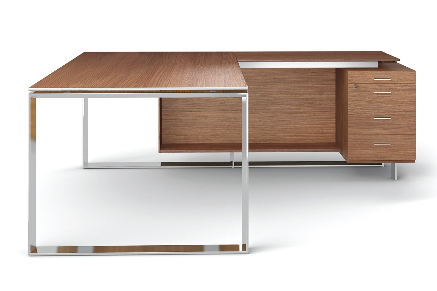 Office X7 01 L Shaped Desk For Executive Office With