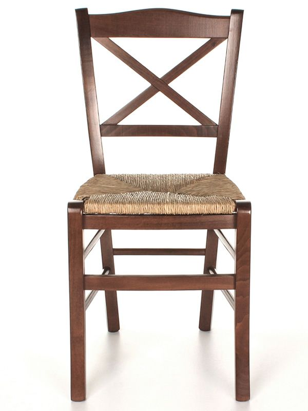 Mu83 country style chair in wood different dyes for Types of wooden chairs