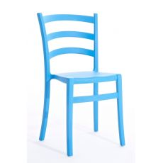 Italia 150 - Colico chair in polypropylene, stackable and also for outdoor