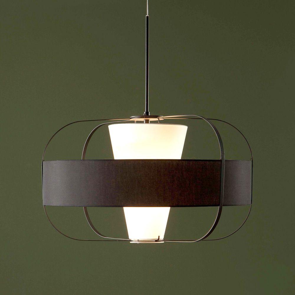 Mos 9112 lampe suspension tonin casa en m tal et verre for Lampe suspension verre