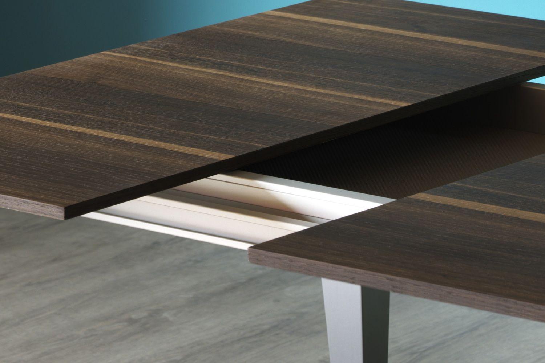 Tavolo Allungabile Gambe Sciabola Ghost Miniforms : Ghost tavolo rettangolare miniforms in legno