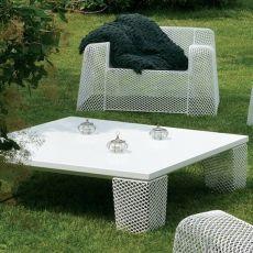 Ivy B - Tavolo basso Emu, in metallo, per giardino