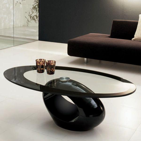 Tavolini Neri : Dubai tavolino tonin casa in agglomerato di marmo