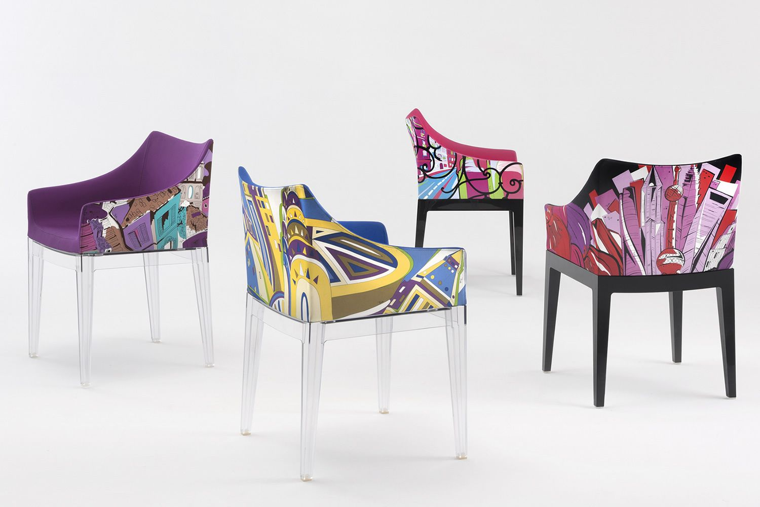 Madame pucci edition poltroncina kartell di design for Kartell ufficio