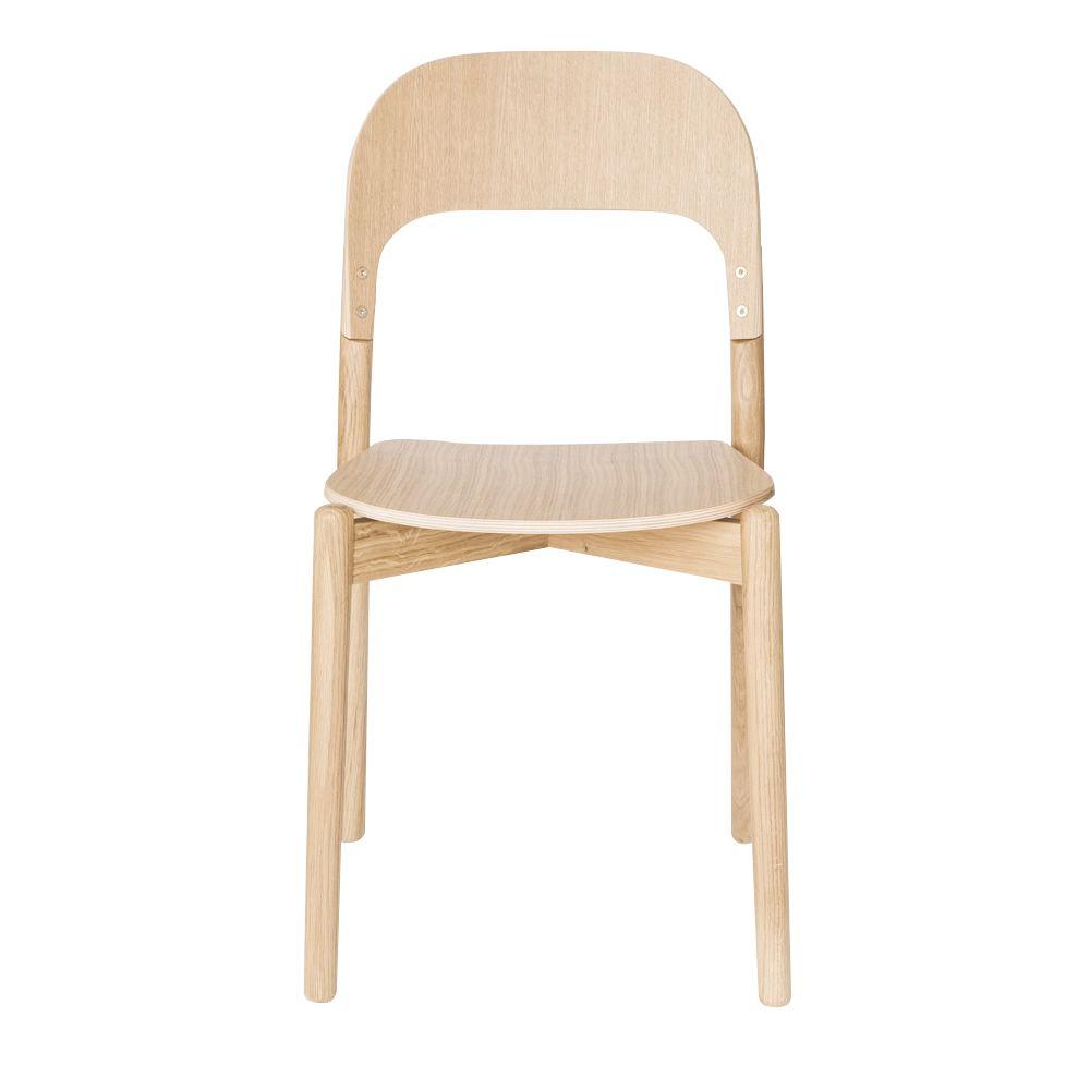 Paula sedia di design in legno sediarreda for Sedia di design