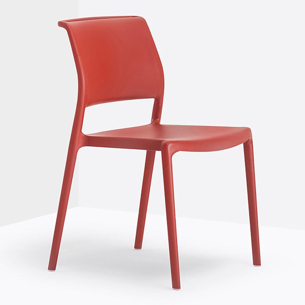 Ara 310 silla pedrali de polipropileno apilable tambi n for Sillas cocina polipropileno