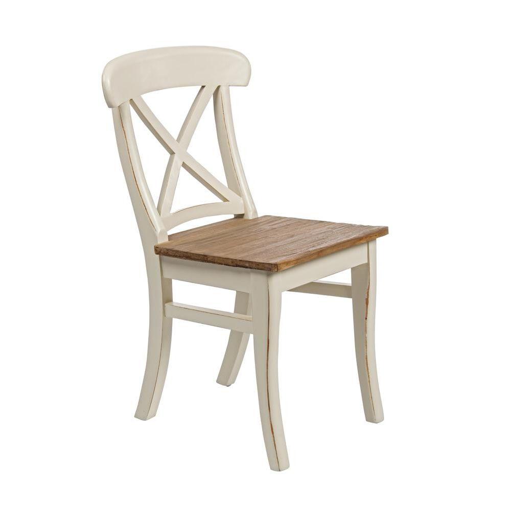 Johannesburg sedia shabby chic in legno indonesiano e for Sedie in legno