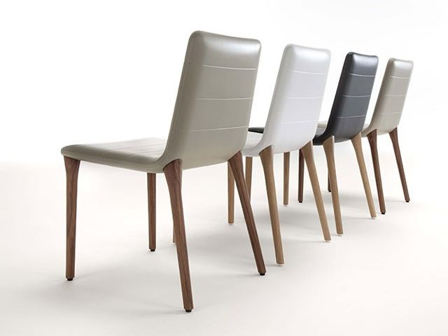 Pit soft touch sedia di design tonon in legno e poliuretano