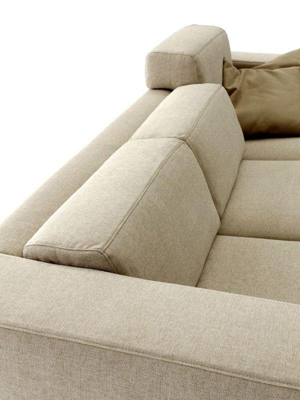 Matrix canap 2 ou 3 places avec chaise longue convertible et coussins de do - Coussin dossier canape ...