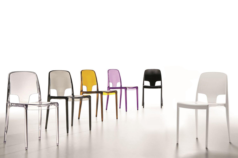 margot chaise infiniti en polycarbonate empilable en diff rentes couleurs sediarreda. Black Bedroom Furniture Sets. Home Design Ideas