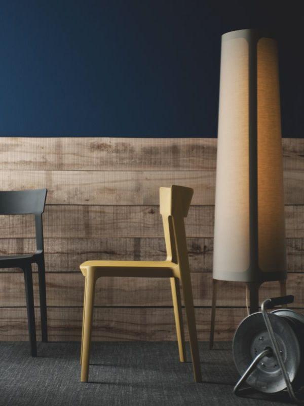 cs8020 f allure bodenleuchte von calligaris aus metall und stoff sediarreda. Black Bedroom Furniture Sets. Home Design Ideas