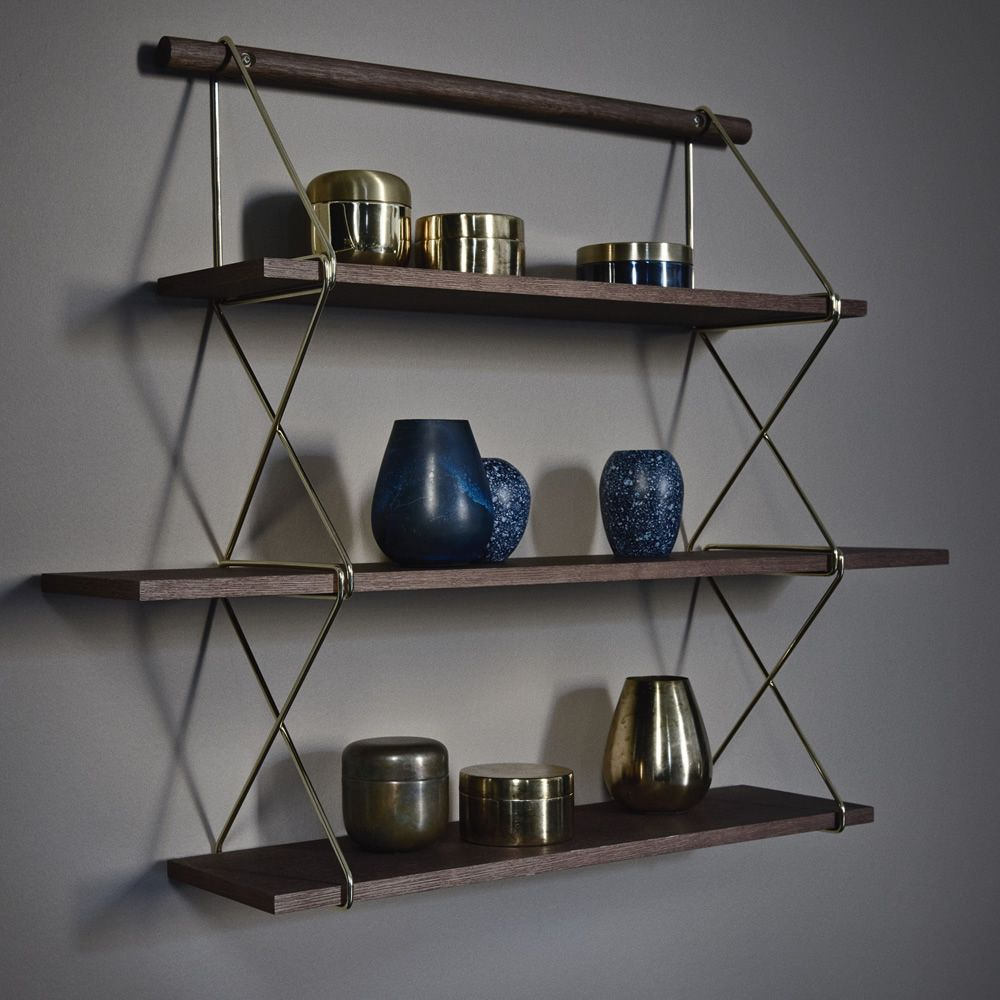 x shelf biblioth que murale modulaire en bois et m tal sediarreda. Black Bedroom Furniture Sets. Home Design Ideas