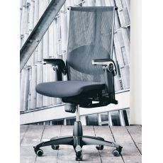 H09 ® Inspiration - Ergonomic office chair by HÅG, with lumbar cushion