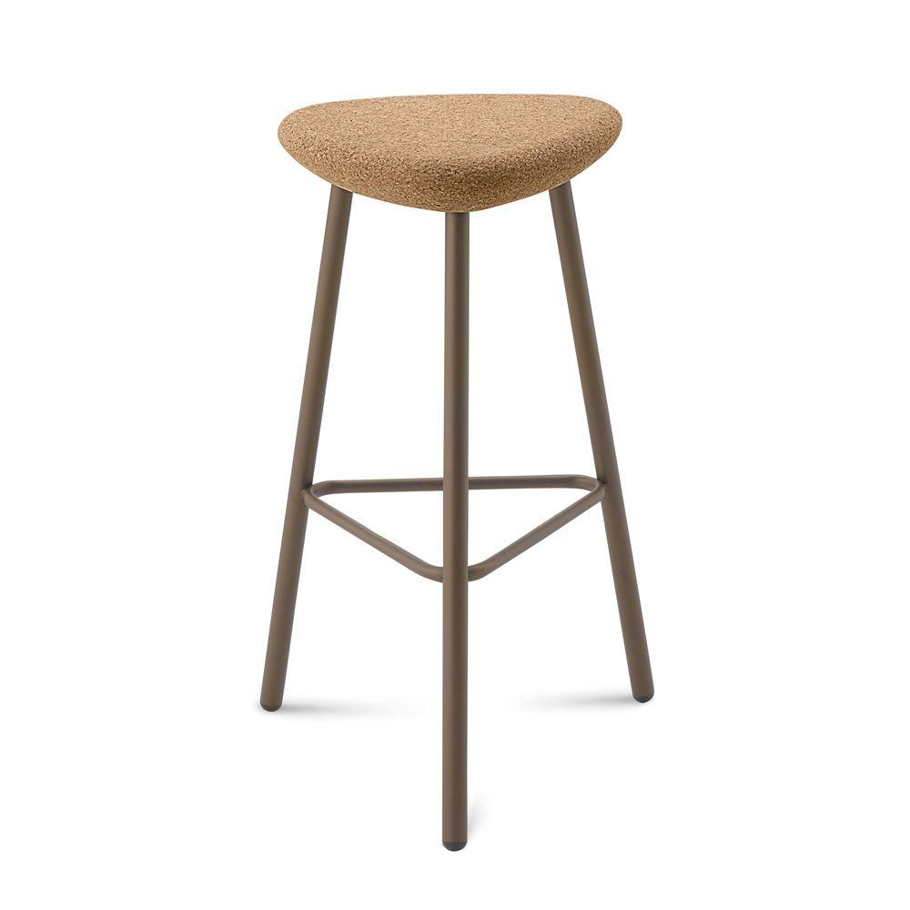 pick hocker domitalia aus metall mit sitz aus kork oder. Black Bedroom Furniture Sets. Home Design Ideas