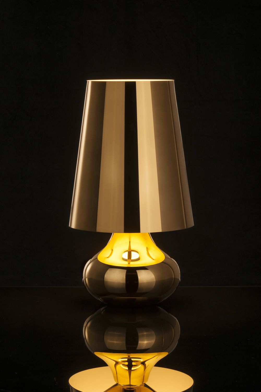 Cindy kartell table lamp made of abs in several colours cindy kartell table lamp in dark gold colour geotapseo Choice Image