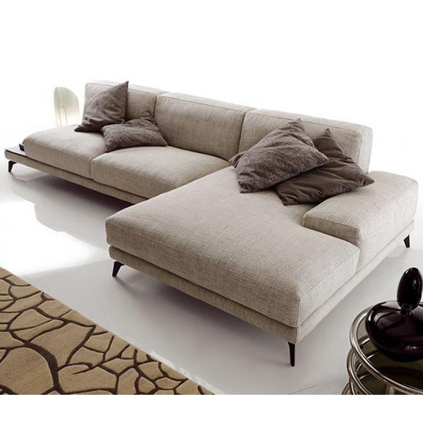 Divano Cuoio Moderno : Tallin divano o posti xl con chaise longue e