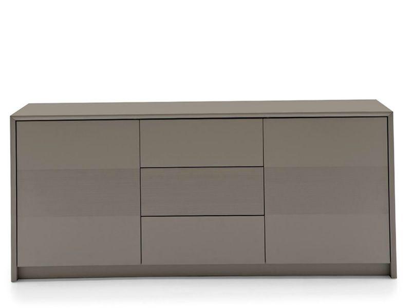 cb6031 3 password meuble aparador connubia calligaris de madera lacada dos puertas y tres. Black Bedroom Furniture Sets. Home Design Ideas