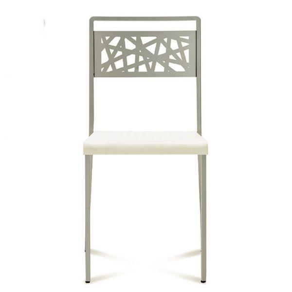 Zigzag sedia domitalia in metallo e polipropilene for Sedia zig zag cassina prezzo