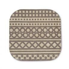 7132 Sampler - Viereckiger Calligaris Teppich aus Acryl, in verschiedenen Größen verfügbar