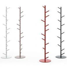 Alga - Appendiabiti moderno Bontempi Casa, in acciaio laccato di diversi colori