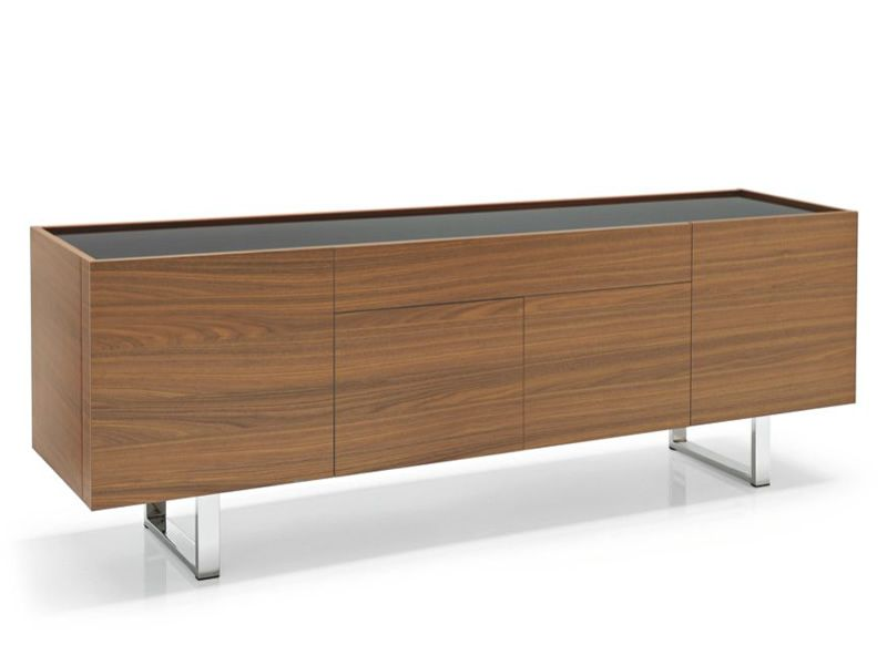 Cs6017 1 horizon meuble buffet calligaris en bois et en for Buffet pour salon
