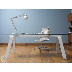 Toronto: Feststehender Tisch Midj, Gestell Aus Metall .