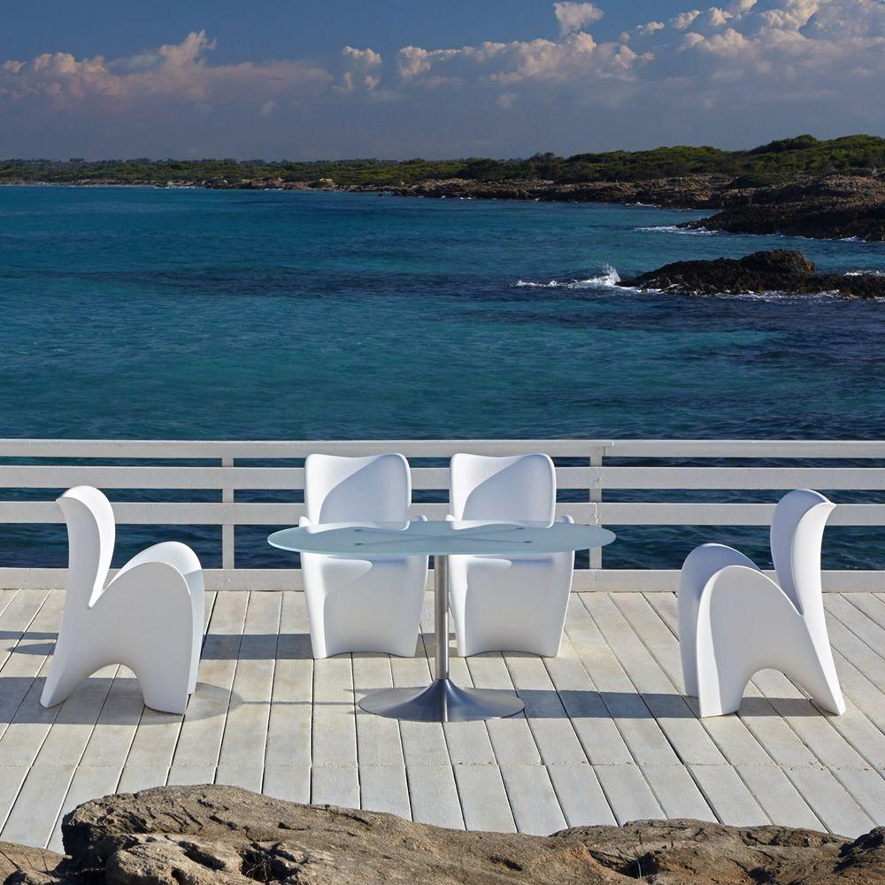 Lily sedia di design in tecnopolimero diversi colori for Sedia di design
