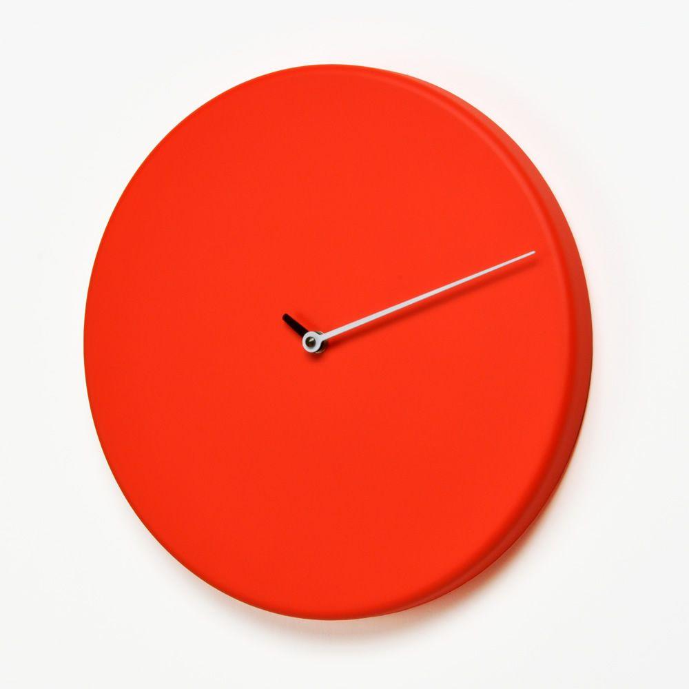 less horloge murale en bois disponible dans diff rentes couleurs sediarreda. Black Bedroom Furniture Sets. Home Design Ideas
