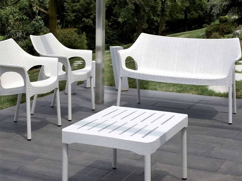 Olimpo sofa 1252 canap en aluminium et technopolym re for Jardines de olimpo