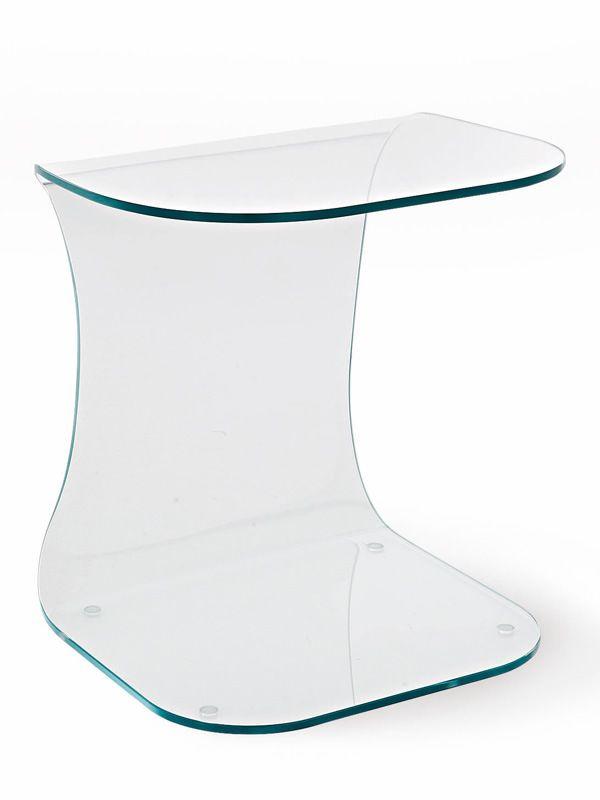 beistelltisch aus glas beistelltisch lutz aus glas h henverstellbar beistelltisch samara aus. Black Bedroom Furniture Sets. Home Design Ideas