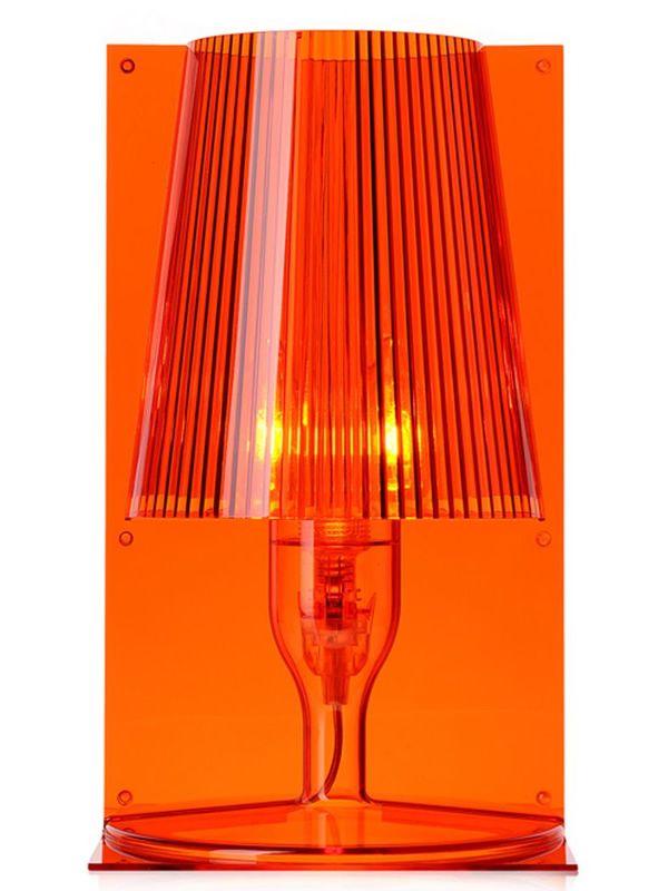 take lampe de table kartell en polycarbonate en diff rentes couleurs sediarreda. Black Bedroom Furniture Sets. Home Design Ideas