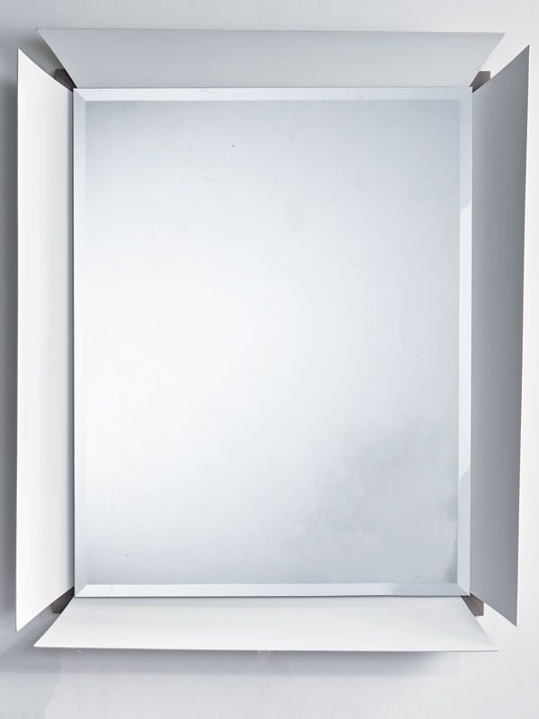 Due b meuble entr e avec 2 titoirs at miroir sediarreda for Miroir cadre blanc