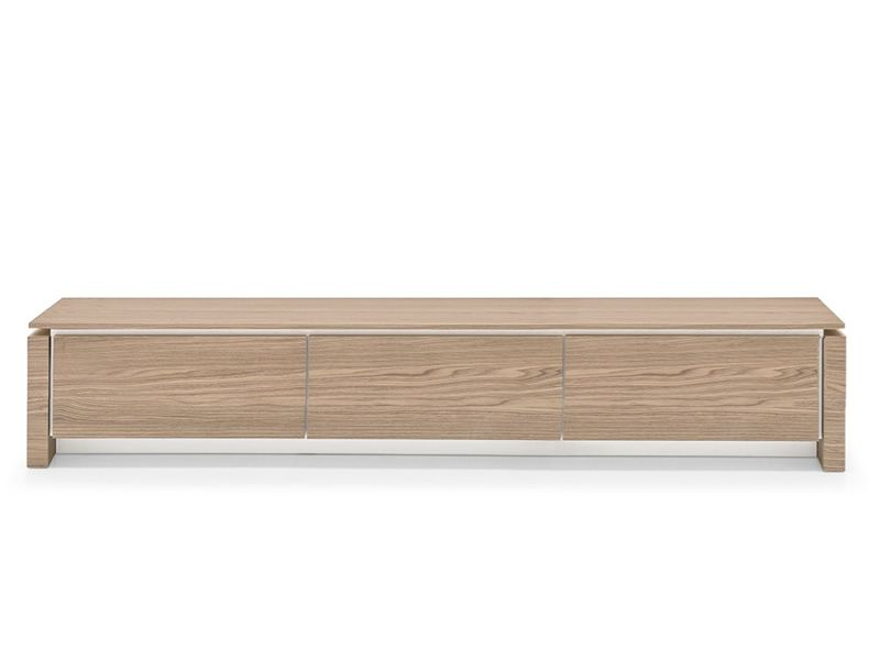 Cs6029 3rl mag meuble porte tv calligaris en bois for Meuble calligaris
