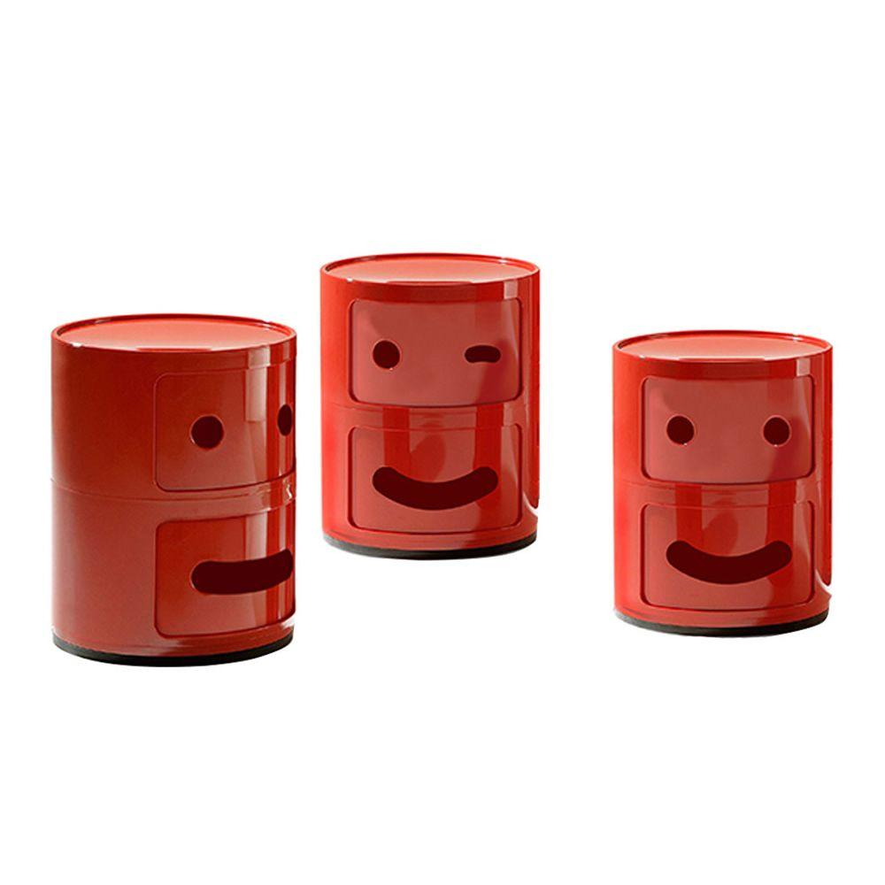 componibili smile - contenitore kartell di design, in abs, con due ... - Mobili Ingresso Kartell