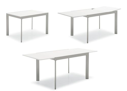 Cb4731 plano mesa extensible connubia calligaris de for Mesa 80x80 extensible a 120