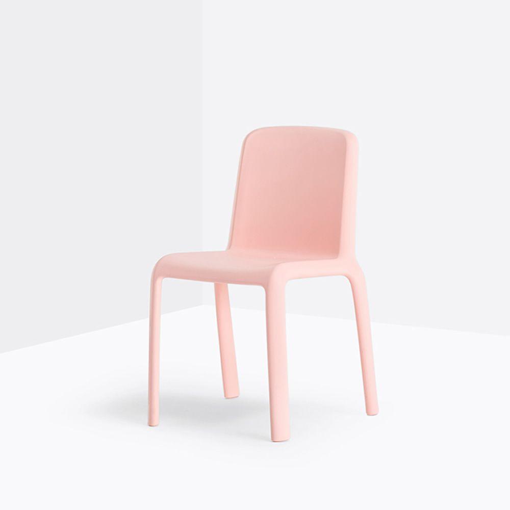 Snow junior 303 sedia per bambini pedrali in for Sedia rosa