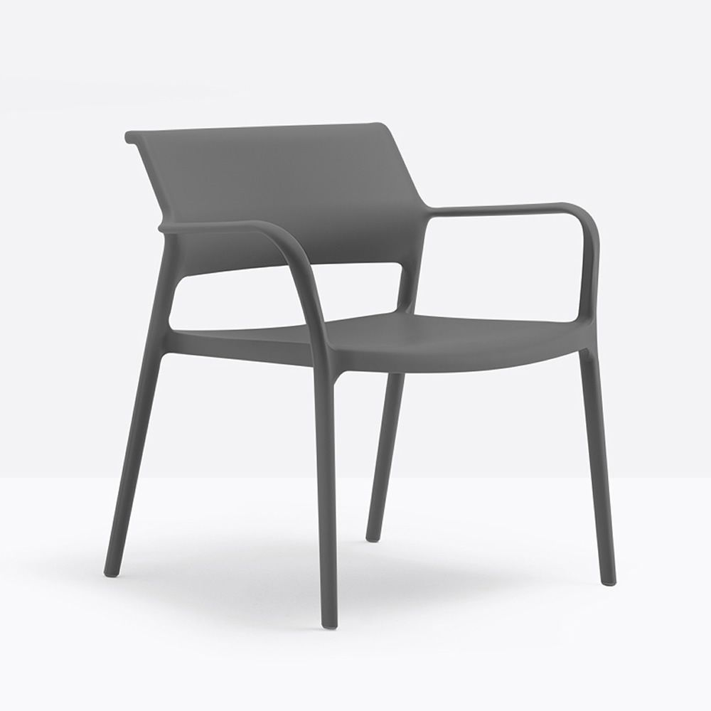 Ara Lounge Stackable Pedrali Lounge Armchair In