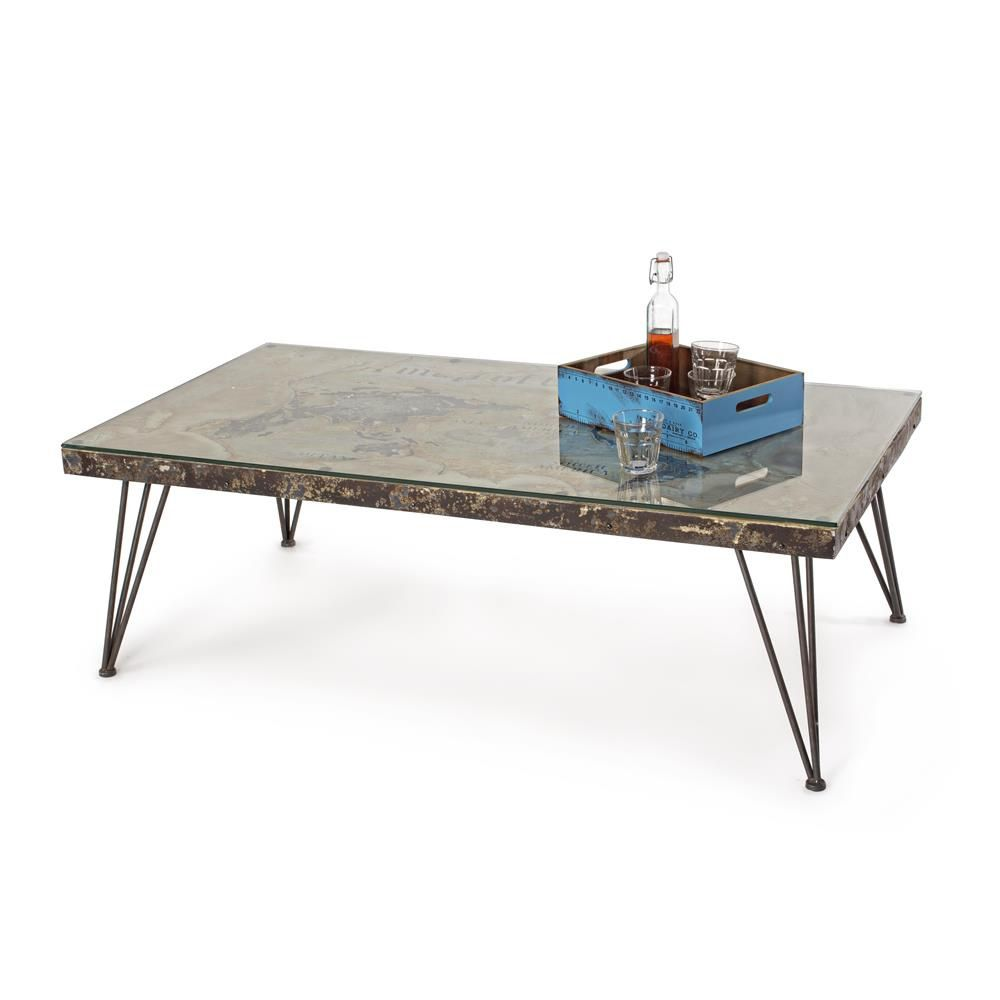 lagos t small urban style coffee table metal with top in. Black Bedroom Furniture Sets. Home Design Ideas