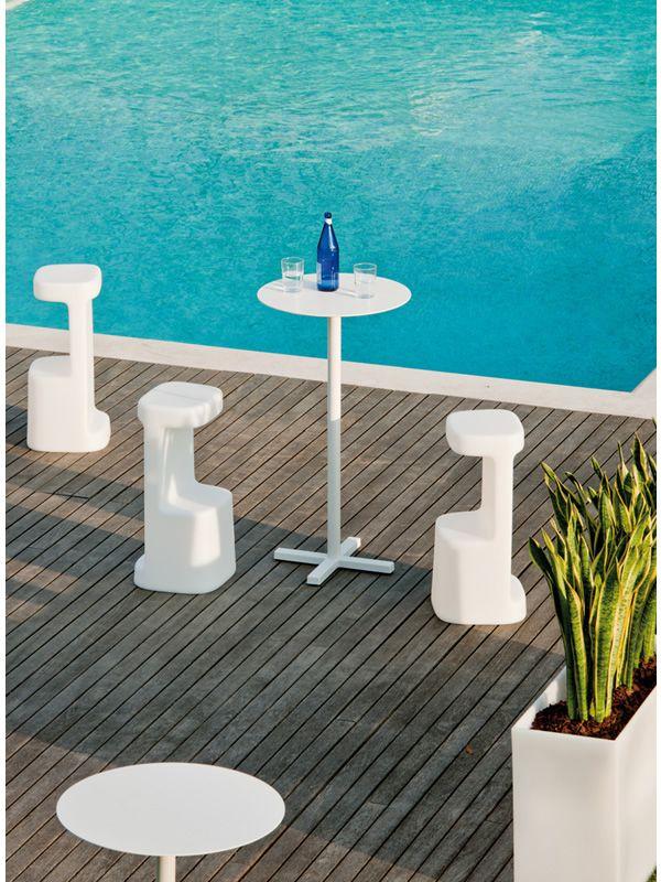 serif 860 pour bars et restaurants tabouret de bar en poly thyl ne pour l 39 ext rieur en. Black Bedroom Furniture Sets. Home Design Ideas