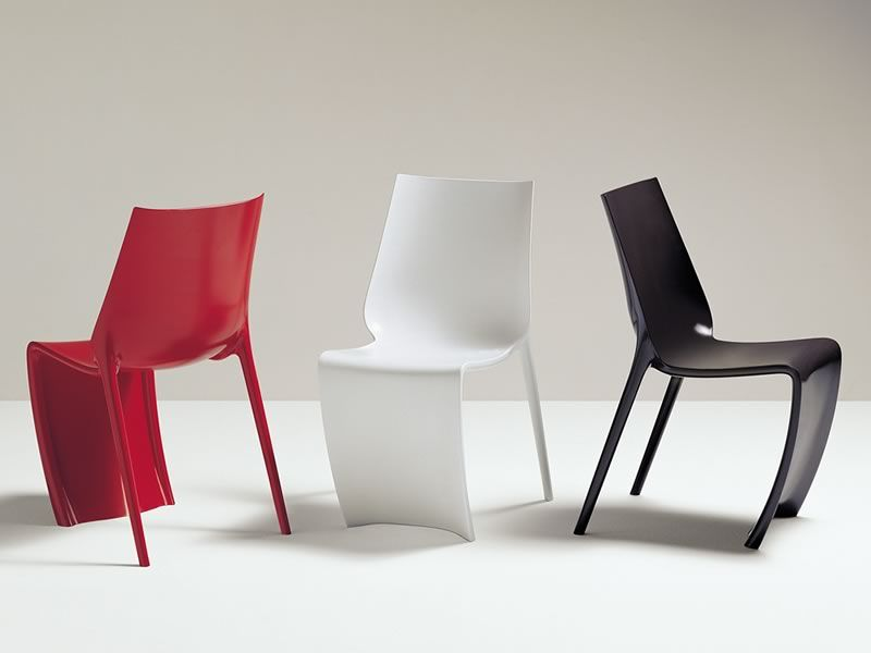 Smart 600 sedia pedrali di design realizzata in nylon for Sedia design bianca