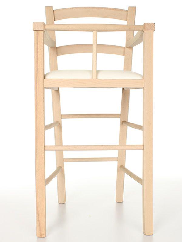per bambini in legno, per bar e ristoranti, con sedile in legno ...