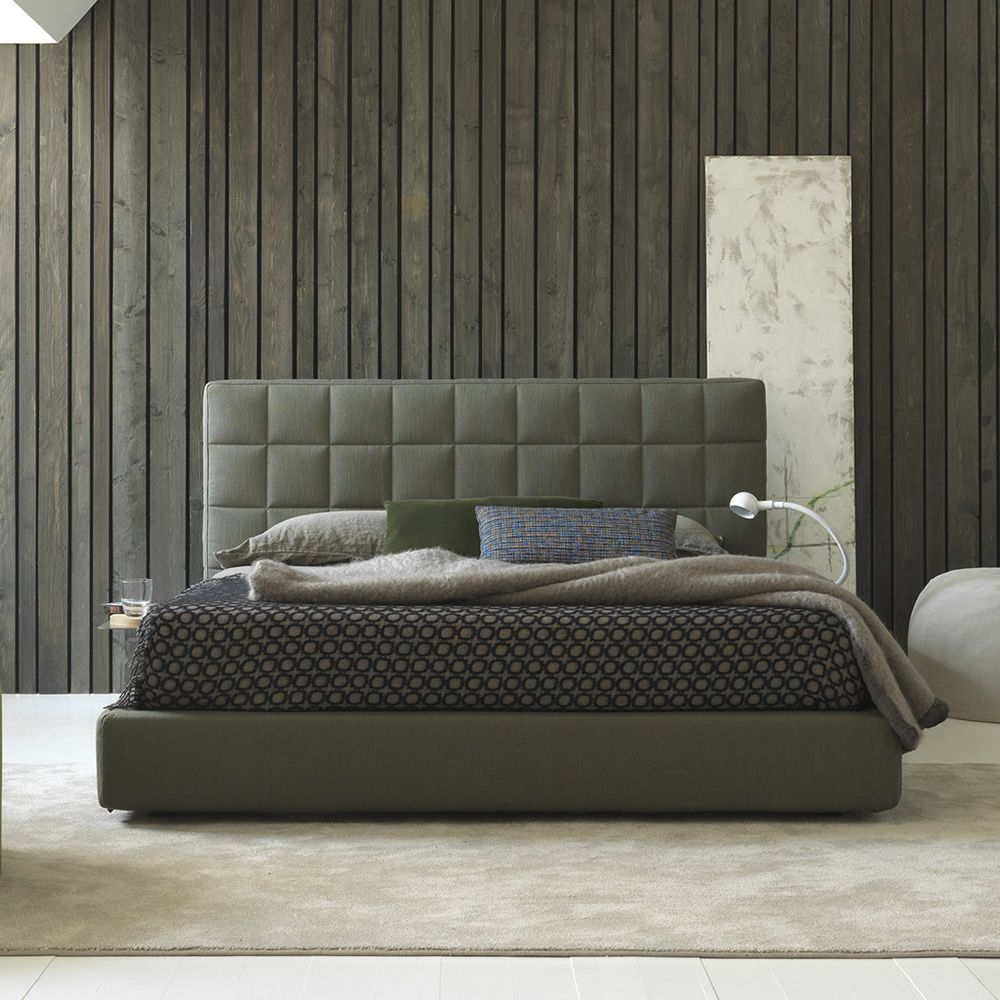 Vittoria cama matrimonial acolchada disponible en varios for Cama matrimonial moderna grande