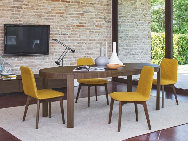 cb398 e atelier tavolo connubia calligaris in legno