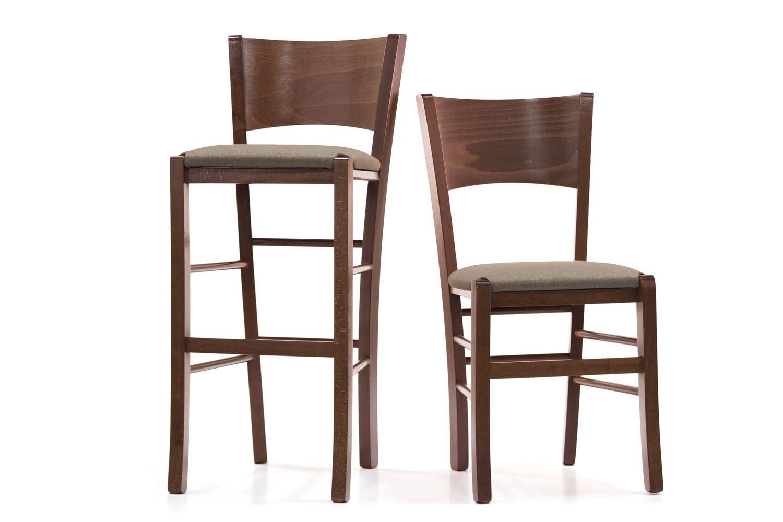 Mu80 s per bar e ristoranti sgabello alto rustico in for Sedie e sgabelli