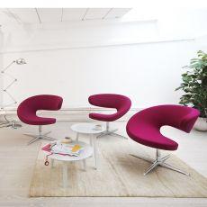 Peel Club - Poltrona ergonomica girevole Kokon di Variér®, disponibile in diversi colori