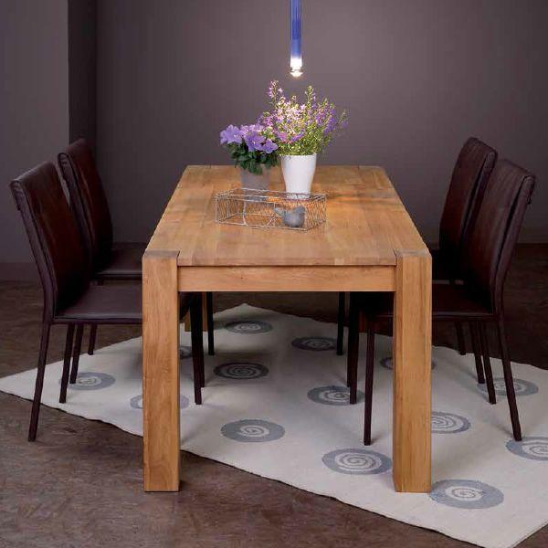 Vr60 tavolo allungabile in legno diverse misure e - Tavolo legno massello allungabile ...