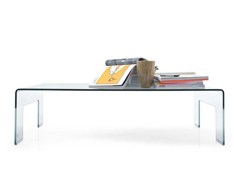 cb507 r real table basse connubia calligaris en verre. Black Bedroom Furniture Sets. Home Design Ideas