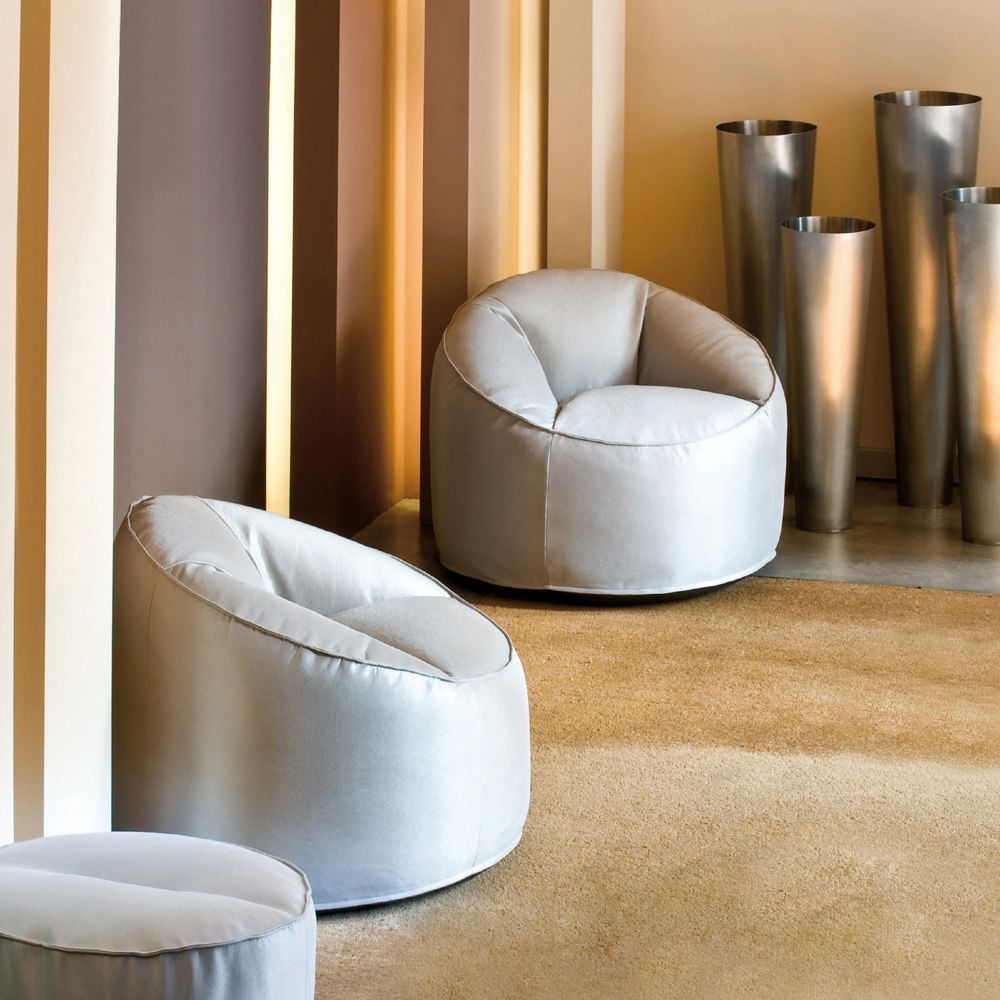 living casa asola armchair chair modern chairs pouf tonin furniture lounge by room